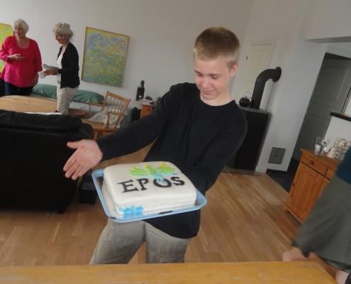 Noah fejrede sin fødselsdag under arbejdsugen på Epos.