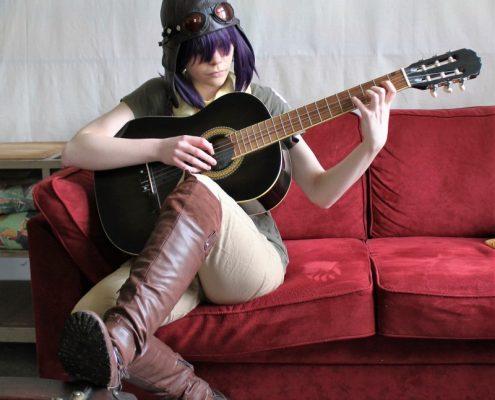 Naja Barkholt - cosplayer, campdeltager og kommende elev.